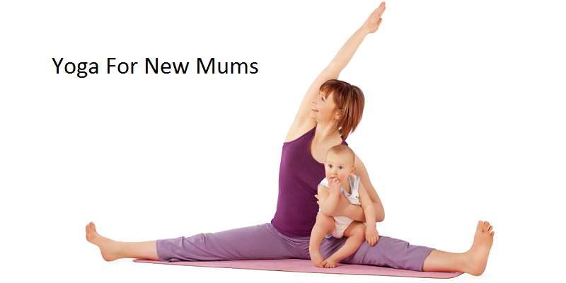 Mum With baby Yoga
