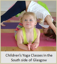 Children's Yoga in the south side of Glasgow.