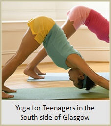 Yoga for Teenagers in the south side of Glasgow. Link