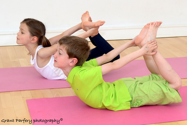 Kids Yoga for three to five year old kids.