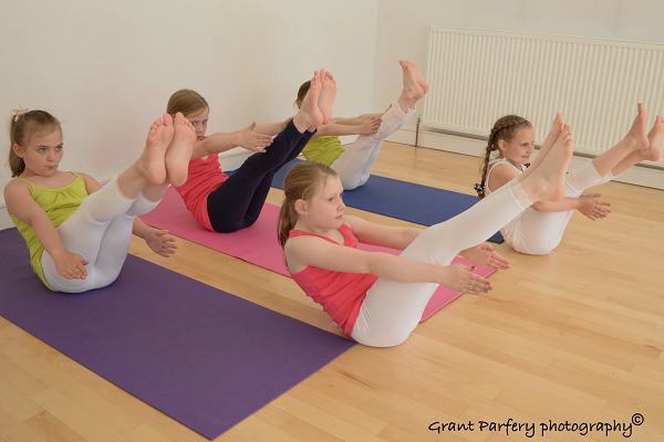 Yoga for Eight to Twelve Year Old Children